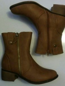 New Bella Marie Natural Short Booties